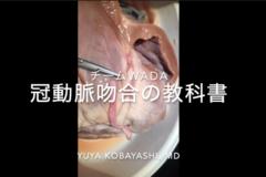 「冠動脈吻合の教科書8」 冠動脈吻合界のスーパールーキー登場